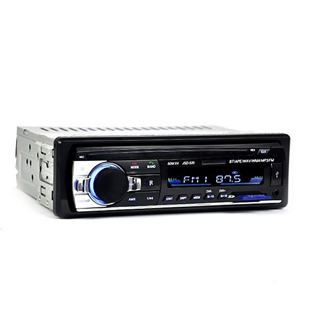 12V Car Radio MP3 Audio Player Bluetooth AUX USB SD MMC Stereo FM Auto Electronics In-Dash Autoradio 1 DIN for Truck Taxi Windows CE 5.0