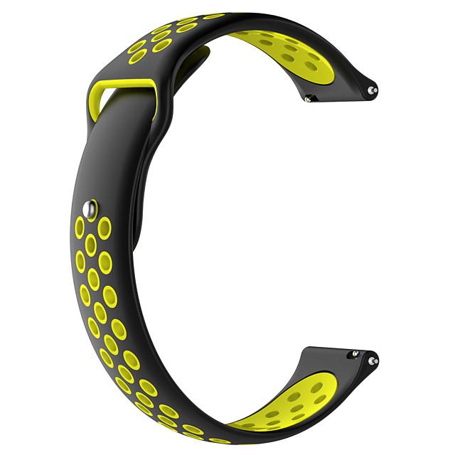 Watch Band for TicWatch C2 / Ticwatch 2 / Ticwatch E TicWatch Modern Buckle Silicone Wrist Strap