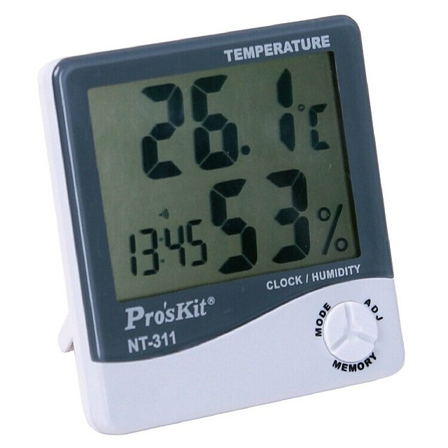 Digital Thermometer and Humidimeter Electronic Temperature and Humidity in Home Warehouse