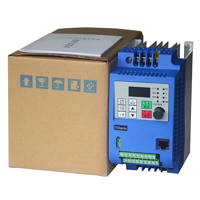 2.2kw 380v ac drive inverter  frequency converter 3 phase frequency inverter for motor speed controller VFD