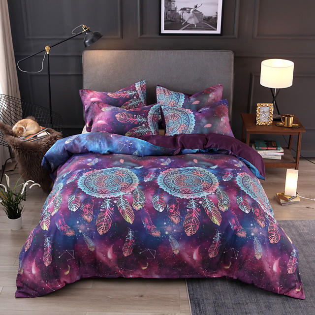 Dreamcatcher Bedding Set for comforter Colourful Animal Cartoon Duvet Cover with Pillow Cases Twin Full Queen King Size Kids new