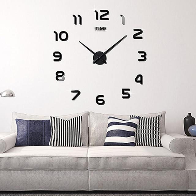"Wall Clock,Fashion DIY Acrylic Round Indoor 100*100cm (39""*39"")"