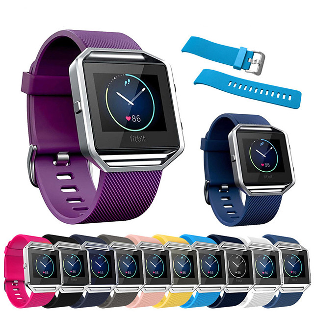 Watch Band For Fitbit Blaze Fitbit Sport Band / Classic Buckle Silicone Wrist Strap For Fitbit Blaze