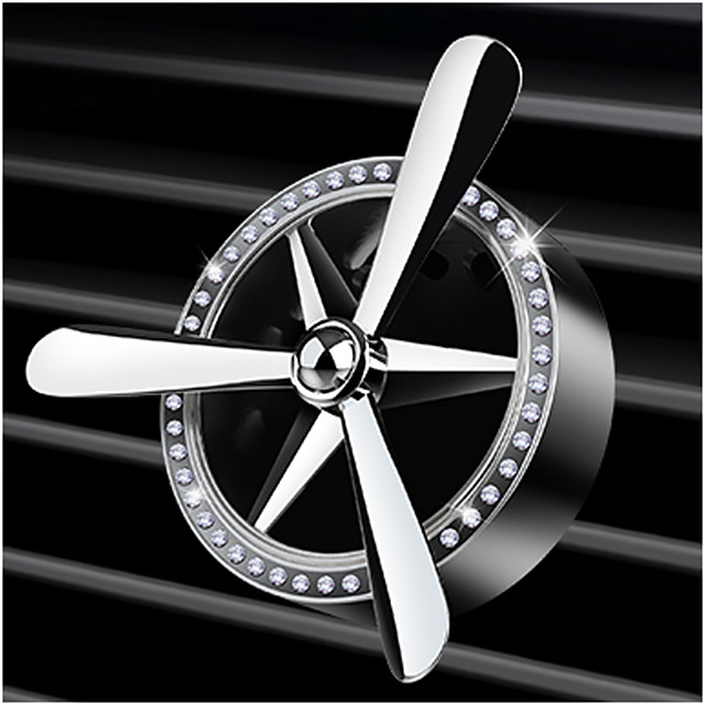 Car perfume air freshener mini fan car vent outlet