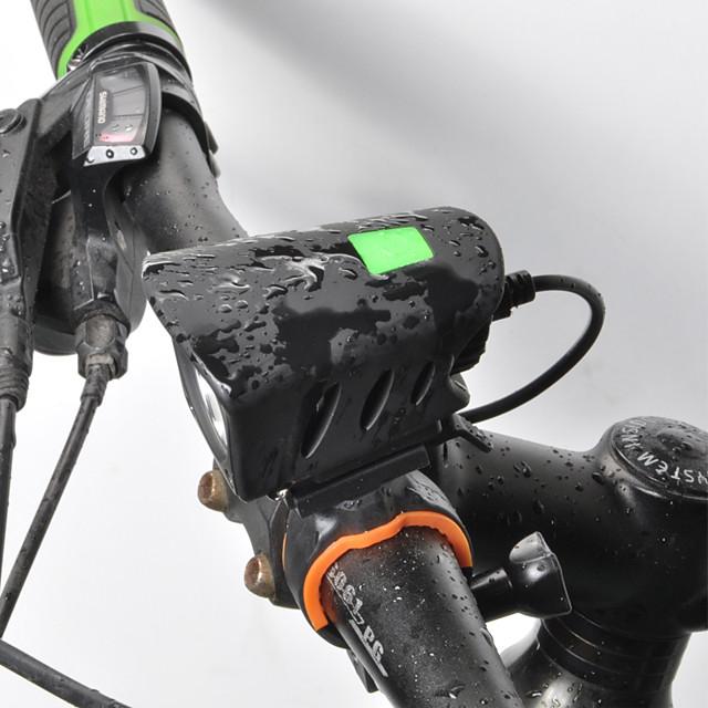 LED Bike Light Front Bike Light LED Bicycle Cycling Quick Release Li-polymer Rechargeable Li-Ion Battery 1000 lm Rechargeable Battery White Cycling / Bike / 360° Rotation / Aluminum Alloy / IPX 6