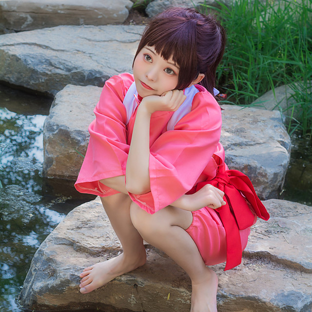 Inspired By Spirited Away Chihiro Ogino Anime Cosplay Costumes Japanese Cosplay Suits Skirt For Women S 7674353 2020 31 49