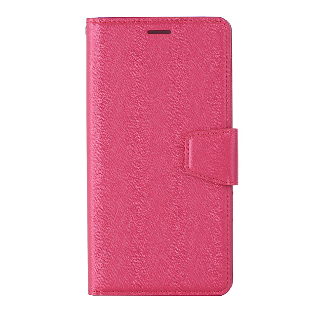 Case For Sony XZ2 PREMIUN Card Holder Flip Magnetic Full Body Cases Solid Colored PU Leather textured