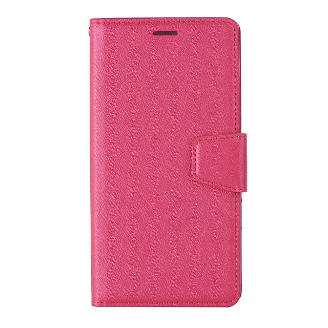 Case For Asus Asus Zenfone 4 MAX ZC554KL ZB633KL 4 selfieZD552KL ZB631KL zenfone5 ze620kl ZS620KL Card Holder Flip Magnetic Full Body Cases Solid Colored PU Leather TPU textured
