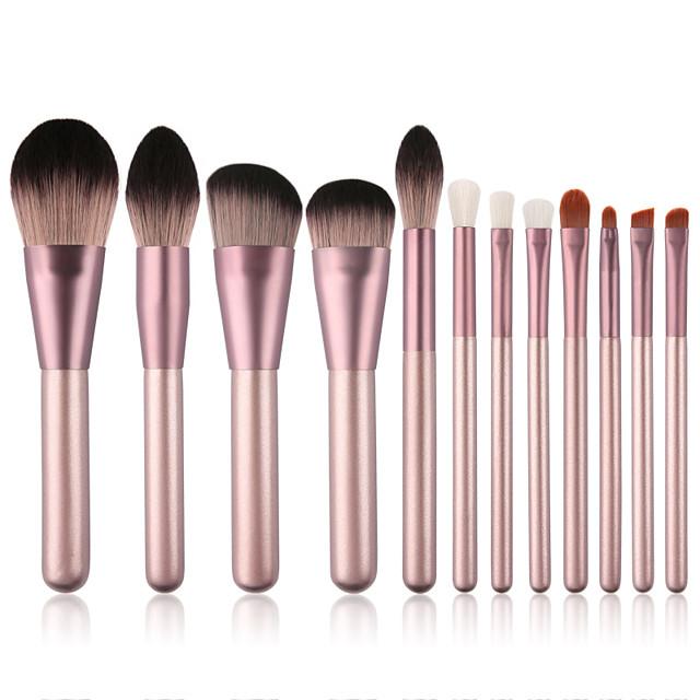 12 Pcs Small Grape Makeup Brushes Set for Beginners Small Grape Makeup Brush Set Beauty Tools Makeup Brushes