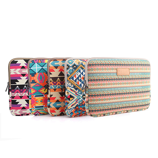 10 Inch Laptop / 12 Inch Laptop / 13.3 Inch Laptop Sleeve Polyester / Cotton Blend / Canvas Printing Unisex Waterpoof Shock Proof