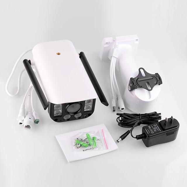 WANSCAM K25 Smart Wireless IP Camera 1080P Waterproof 4X Digital Zoom Two Way Audio Remote Control Outdoor Surveillance Night Vision 320 PTZ Rotation H.264 Security Camera