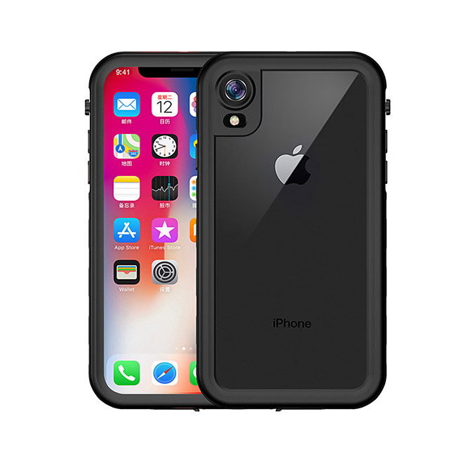 Case For Apple Applicable to XS Max 2-in-1 Anti-fall Mobile Phone Case XR Waterproof Dot All-inclusive Protective Case