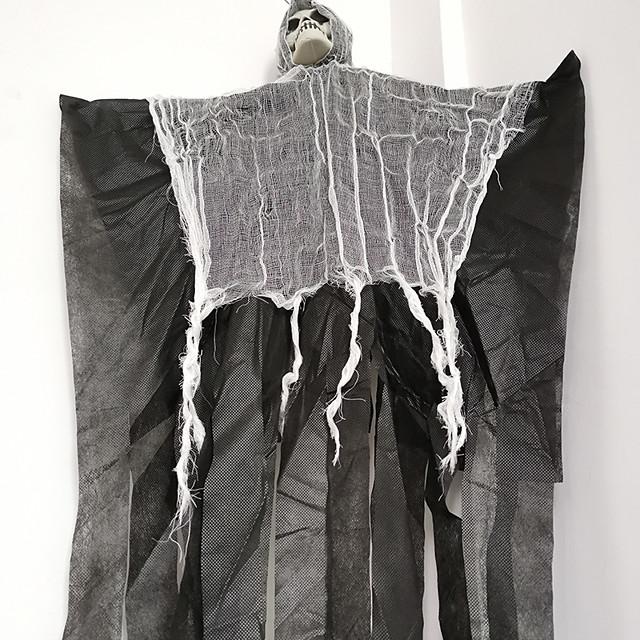 Skeleton hanging ghost haunted house Easter Halloween dress up terror hanging bar ghost trick festival atmosphere