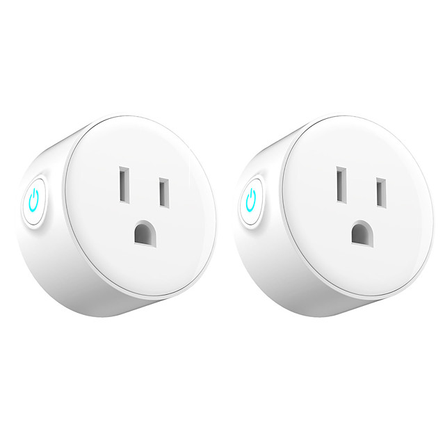 2 Pack Smart Plug  for Living Room / Study / Bedroom APP Control / Timing Function / Smart WIFI 110-150 V Smart Sokcet two Pack-US PLUG
