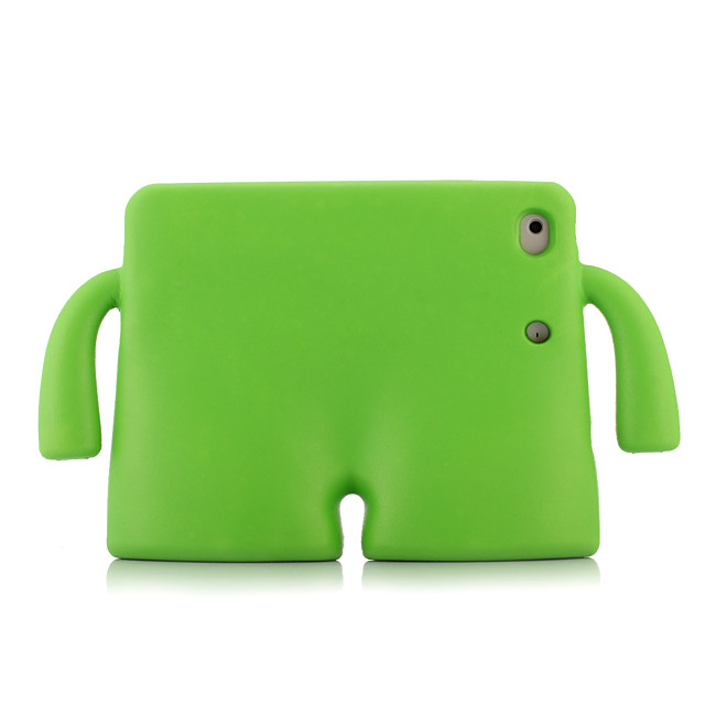 Case For Apple iPad Mini 3/2/1 / iPad Mini 4 / iPad Mini 5 Shockproof / with Stand Back Cover Solid Colored Silica Gel