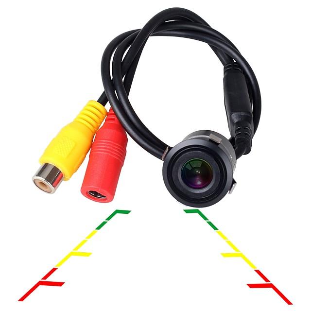 ZIQIAO Universal HD CCD Night Vision Waterproof 18.5mm Car Reversing Rear View Camera