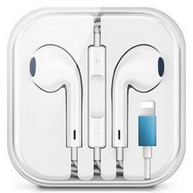 LITBest Wired Bluetooth Earphone with Microphone Stereo Headset for iPhone iPod