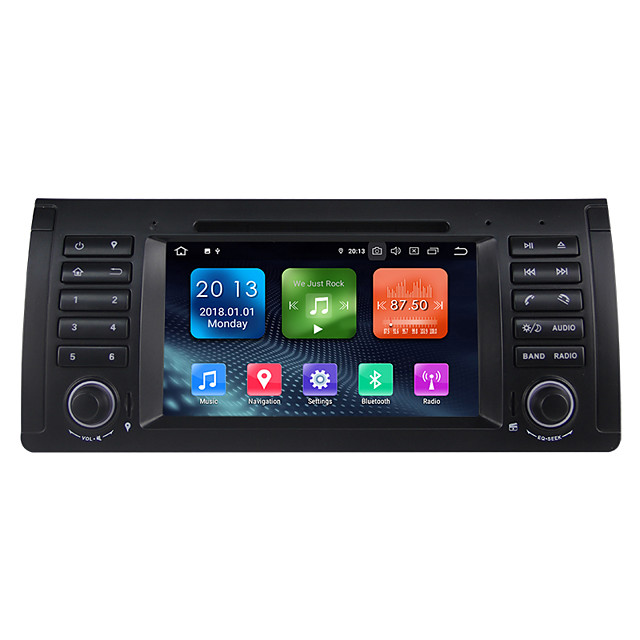 Factory OEM WN7061 7 inch 1 DIN Android / Android 9.0 In-Dash Car DVD Player / Car GPS Navigator GPS / Built-in Bluetooth / RDS for BMW RCA Support MPEG / AVI / MOV MP3 / FLAC / APE JPEG / GIF / BMP