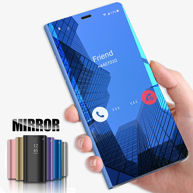 Case For Vivo Y69 Vivo X20 Plus Phone Case New Plated Mirror Phone Case for Vivo X21 X20 X23 Y69 Y71 Y75 Y85 Y95