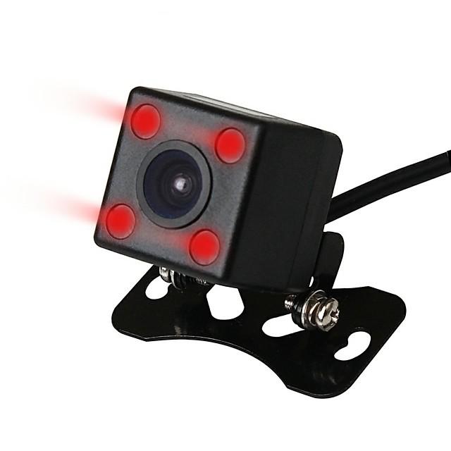 ZIQIAO Wide Viewing Angle Waterproof Reversing Rear View Camera 4 IR Night Vision Car Rear View Camera CCD Imaging Sensor
