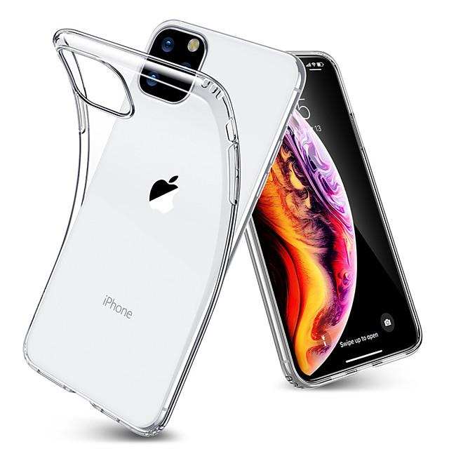 Ultra-thin Transparent TPU Case For iPhone 11 Pro / iphone 11 / iphone 11 Pro Max Soft TPU Clear Bumper Case Cover