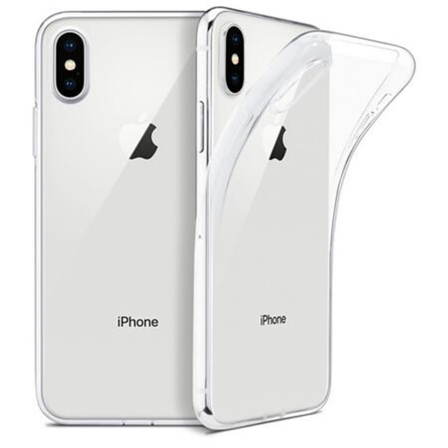 For iPhone 6/6s/6p/6sp/7/8/7p/8p/x/xs/xr/11/11p Case WEFOR Slim Clear Soft TPU Cover for iPhone 6/6s/6p/6sp/7/8/7p/8p/x/xs/xr/11/11p