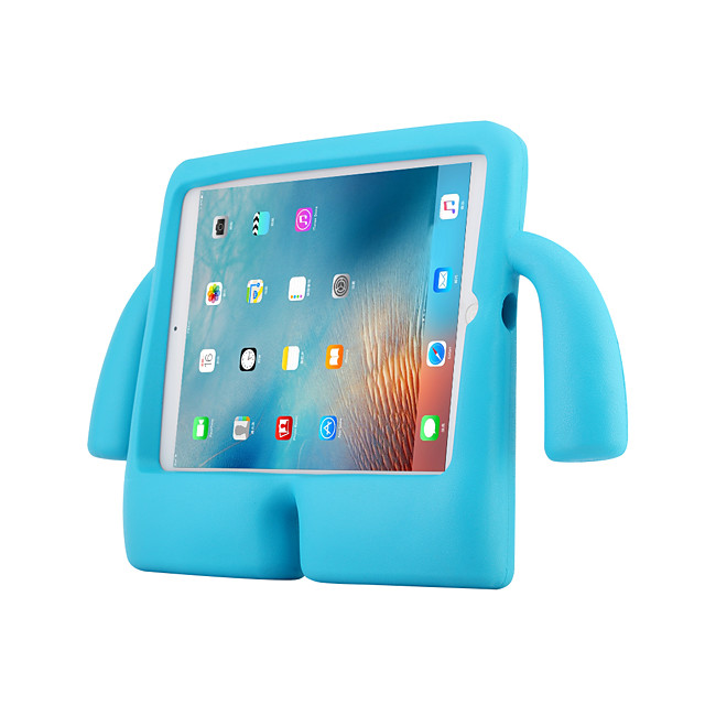 Case For Apple iPad Air / iPad 4/3/2 / iPad Air 2 Lovely iPad Case Shockproof with Stand Cute TV Shape iPad Case Back Cover Solid Colored PC / Silica Gel for Kids Young Age