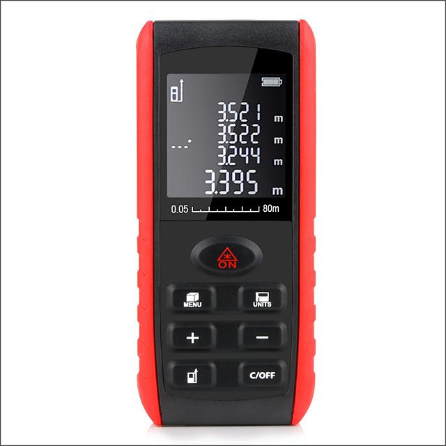 E80 Laser Rangefinder Laser Distance Meter Measuring Device Digital Handheld Tools Module Range 80m  Range Finder