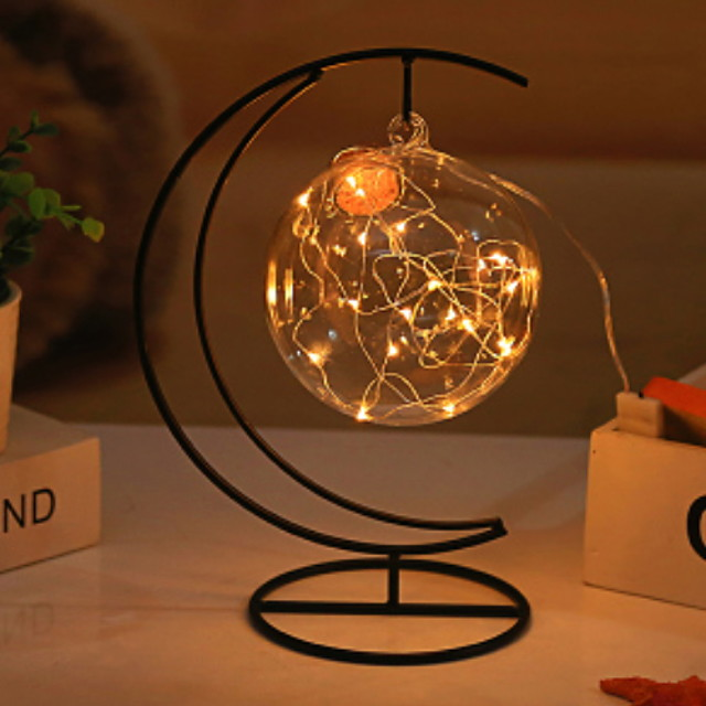 Decorative Objects, Glass Metal Modern Contemporary for Home Decoration Gifts 1pc diameter 12CM