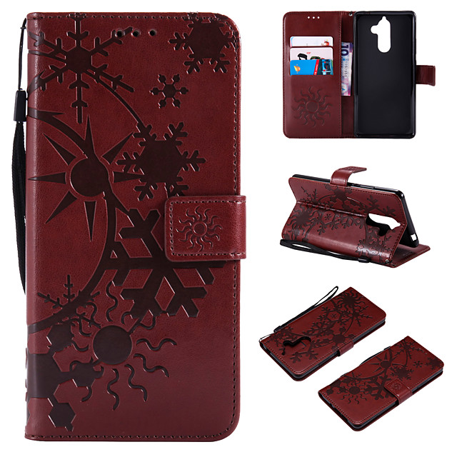 Case For Nokia Nokia 9 / Nokia 8 / Nokia 7 Wallet / Card Holder / Flip Full Body Cases Scenery PU Leather / TPU