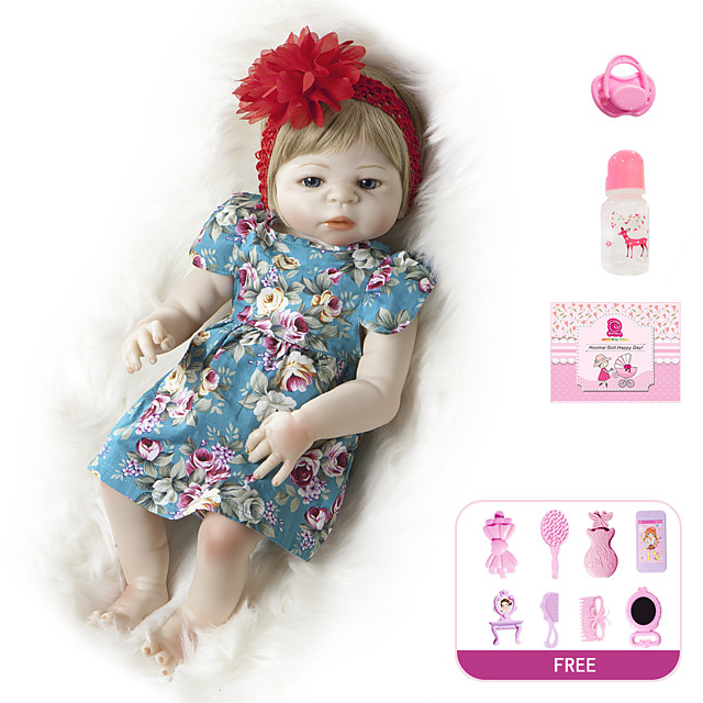 Reborn Doll Baby Girl 20 inch Full Body Silicone - Kids / Teen Kid's Unisex Toy Gift