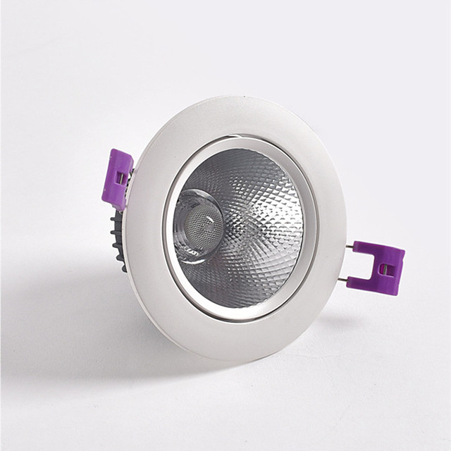 New Die-cast LED Spotlight COB 5w Embedded Ceiling Spotlight Downlight Clothing Store And Hotel Lighting