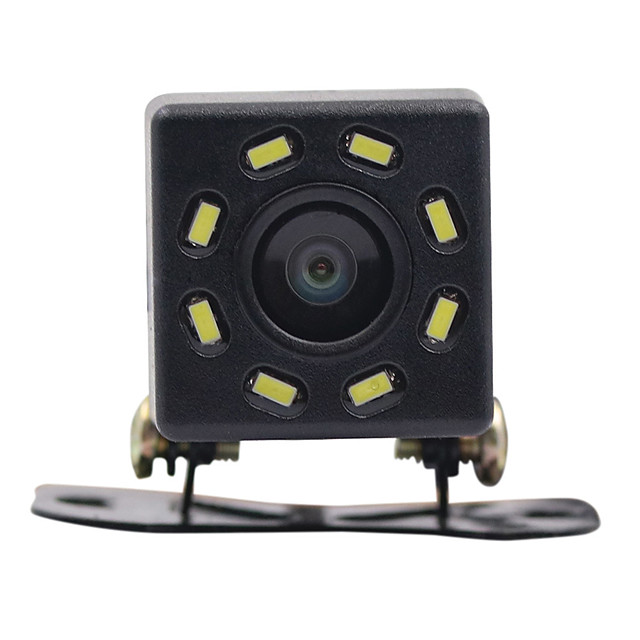 Car Rear View Night Vision 8 LED Reverse Camera HD Video Waterproof Reversing Parking Monitor CCD 170 Degree Wide Angle