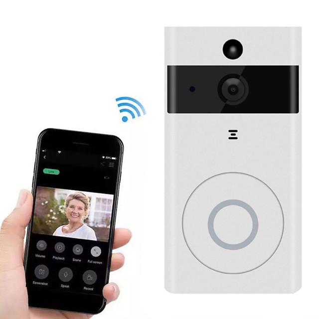 Factory OEM D07 WIFI No Screen(output by APP) TelepYu Video Surveillance Voice Intercom Wireless Smart Home Wifi Mobile App Software Remote Intelligent Doorbellhone One to One video doorphone