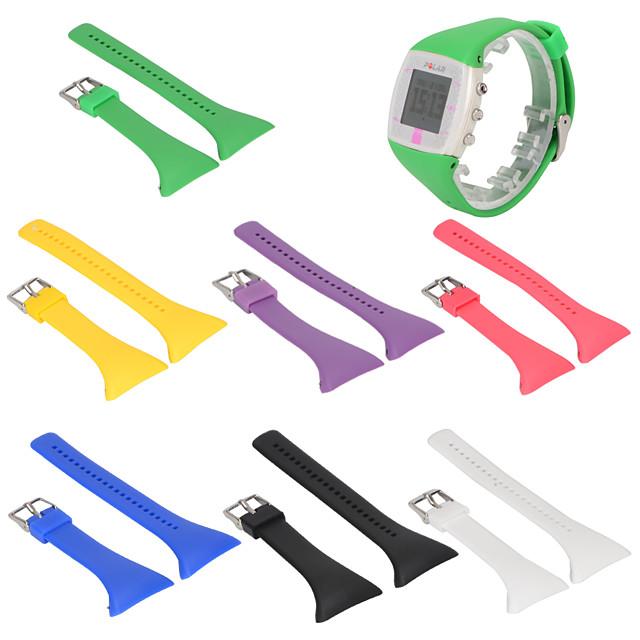 Watch Band for POLAR FT7 / POLAR FT4 Polar Sport Band Silicone Wrist Strap