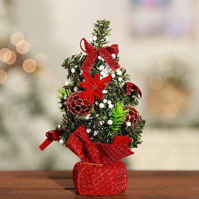 Christmas Ornaments Holiday Fabric Cube Novelty Christmas Decoration