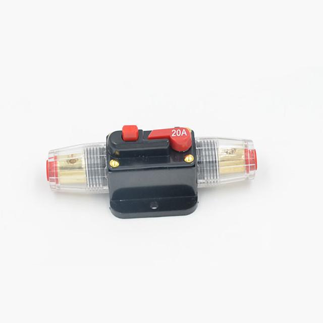 linijski osigurač stereo / audio / automobil / brod / rv ponovno osigurač osigurač 12v / 24v / 32v zaštitni strujni napon dc12 / 24 / 32v