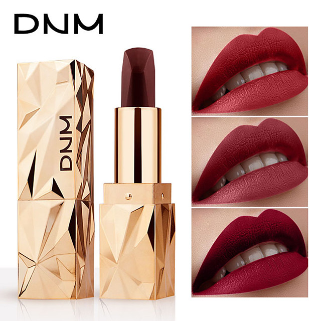 DNM Long Lasting Matte Color Changing Lipstick Moisturizer Velvet Lip Gloss Waterproof Cosmetic Beauty Makeup