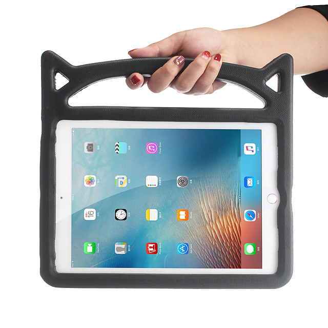 Case For Apple iPad Air / iPad 4/3/2 / iPad (2018) Shockproof / with Stand Back Cover Solid Colored EVA