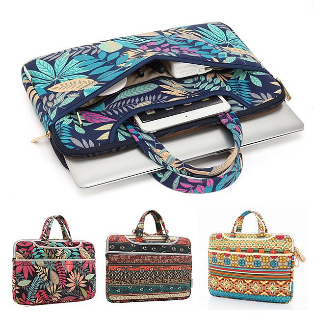 11.6 Inch Laptop / 12 Inch Laptop / 13.3 Inch Laptop Sleeve / Briefcase Handbags Canvas Solid Color Unisex Water Proof Shock Proof