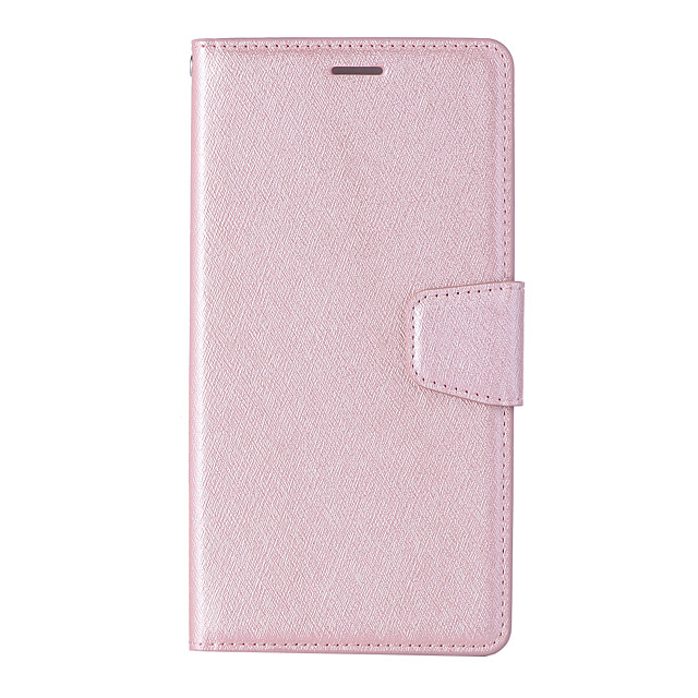 Case For Sony XA1 Card Holder Flip Magnetic Full Body Cases Solid Colored PU Leather textured