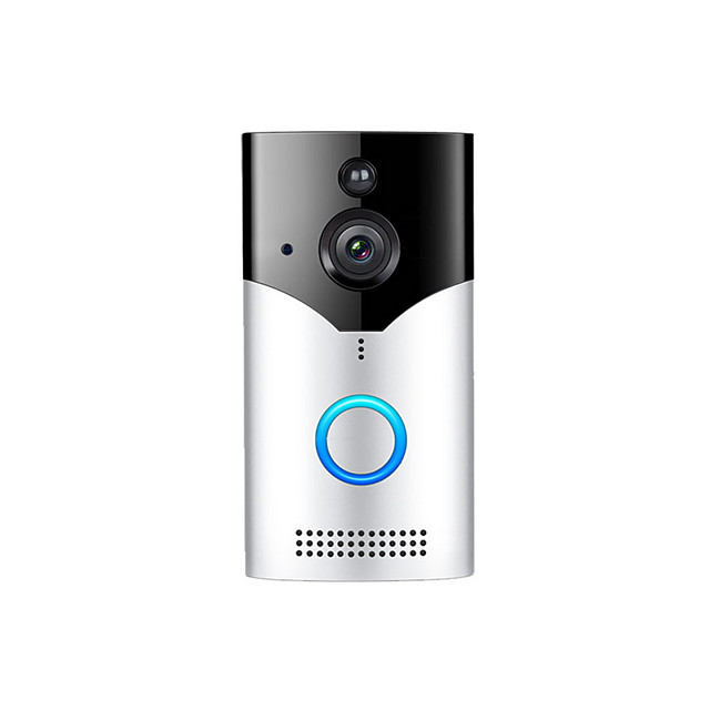 Factory OEM HH-D03 WIFI Recording No Screen(output by APP) Telephone One to One video doorphone