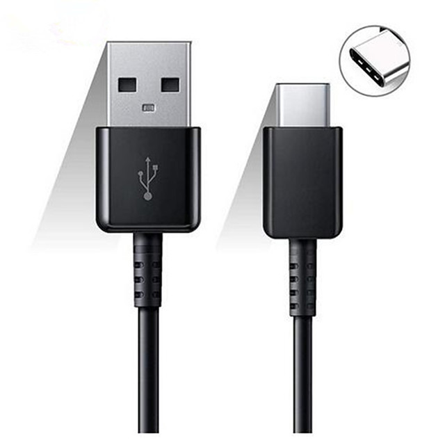Original Samsung 120/150CM USB Type C Cable Fast Charge Data Line for Galaxy S8 S9 Plus S10 Plus A5 A7 2017 Note 8 XIAOMI A3 5 6