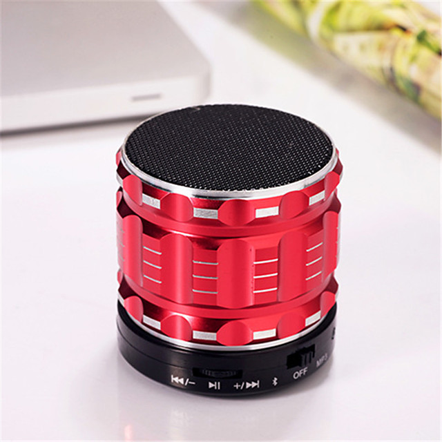 Mini Metal Bluetooth Speaker S28 Stereo Wireless Portable Speaker Super BASS Subwoofer With Microphone Support TF Card FM Radio