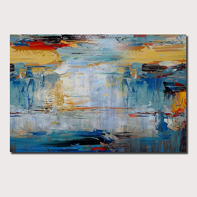 Oil Painting Handmade Hand Painted Wall Art Abstract Pop Art Modern Home Decoration Décor Stretched Frame Ready to Hang