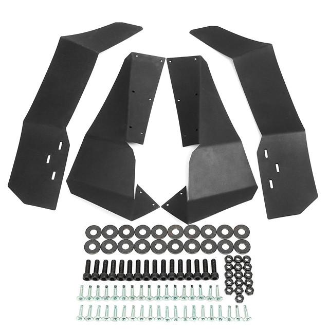 96*9*40cm Wheel Fender-Flares-Mud-Flaps Set For Beach Buggy RZR-S-900 /RZR-S-1000 2015-2017