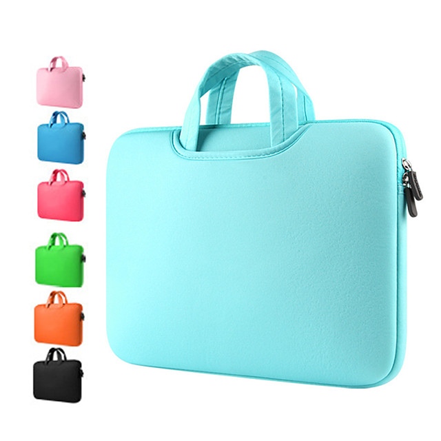 LiSEN anki-04 11.6 Inch Laptop / 12 Inch Laptop / 13.3 Inch Laptop Sleeve Simple / Solid Color Unisex Waterpoof