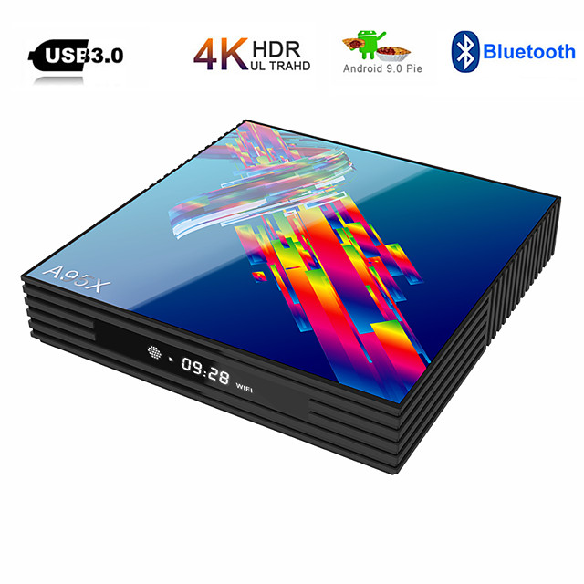 A95X R3 RK3318 9.0 Android TV Box 4GB RAM 64GB 4K 2.4G/5G WiFi USB3.0 Google Netflix Youtube Media Player Set Top Box