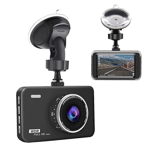 JUNSUN Q5 1080p Full HD / HD DVR de voiture 170 Degrés Grand angle CMOS 3 pouce LCD Dash Cam avec Vision nocturne / G-Sensor / Détection de Mouvement 2 LED infrarouge Enregistreur de voiture