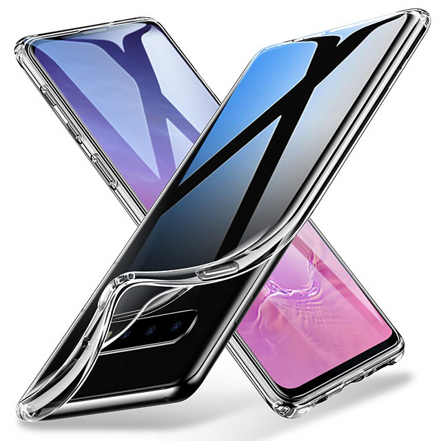 Soft TPU Transparent Protector Phone Case for Samsung Galaxy S10 S10 E S10 Plus S9 S9 Plus S8 S8 Plus